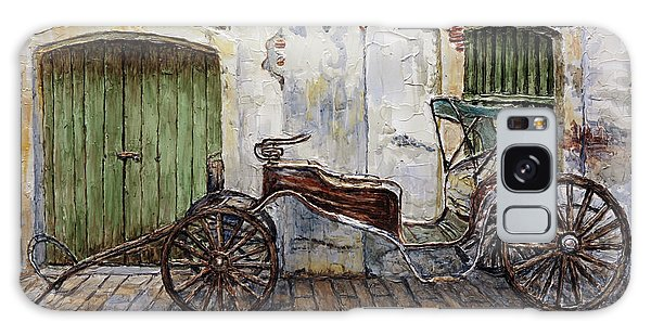 A Carriage On Crisologo Street 2 Galaxy Case by Joey Agbayani