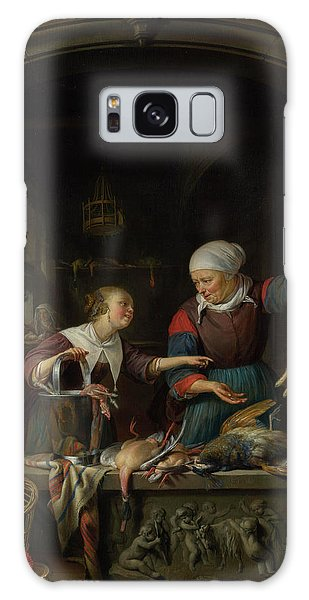 Carcass Galaxy Case - A Poulterer's Shop by Gerrit Dou