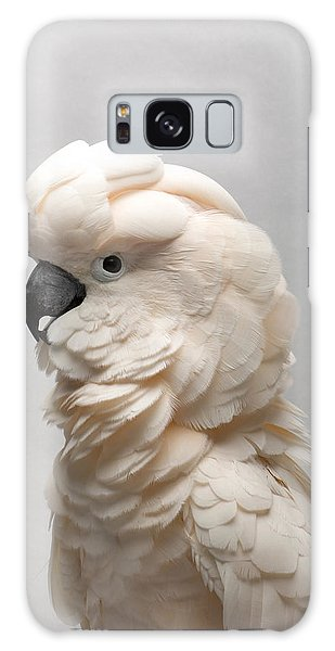 Salmon Galaxy S8 Case - A Salmon-crested Cockatoo by Joel Sartore