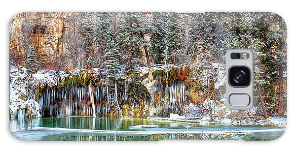Olena Art Serene Chill Hanging Lake Photograph The Gem Of Glenwood Canyon Colorado Galaxy Case