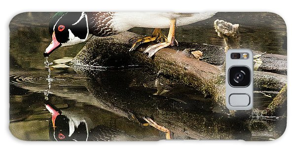 A Sip For You And Me Wildlife Art By Kaylyn Franks Galaxy Case