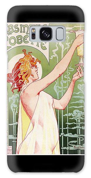 Woman Galaxy Case - Absinthe Robette by Henri Privat-Livemont