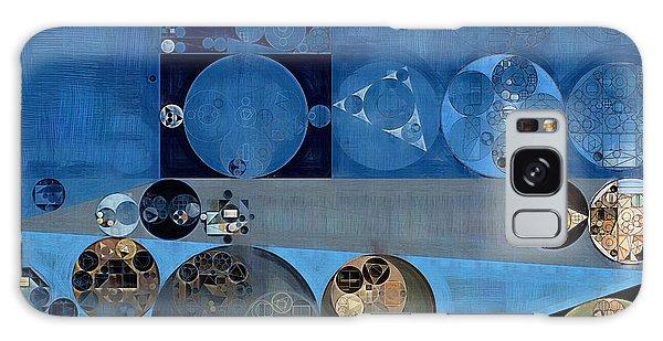 Bahamas Galaxy Case - Abstract Painting - Bermuda Grey by Vitaliy Gladkiy