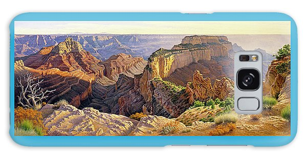 Grand Canyon Galaxy S8 Case - Afternoon-north Rim by Paul Krapf