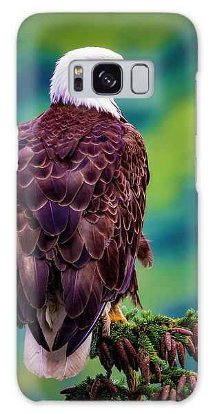 Alaska Bald Eagle Galaxy Case