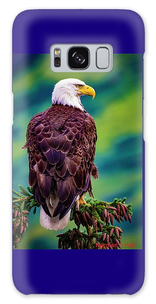 Alaska Bald Eagle Galaxy Case
