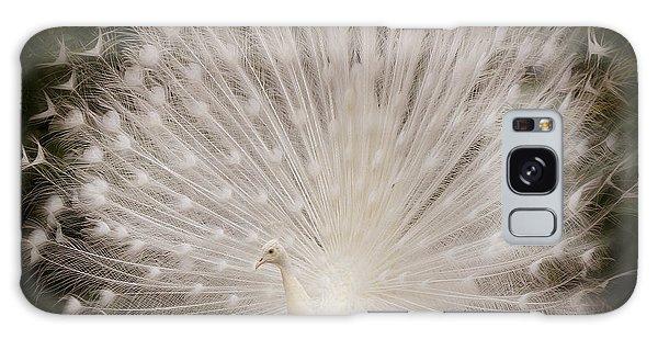Albino Peacock  Galaxy Case