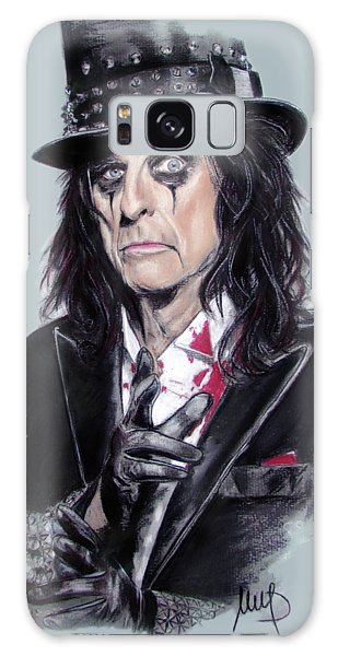 Alice Cooper Galaxy Case - Alice Cooper by Melanie D