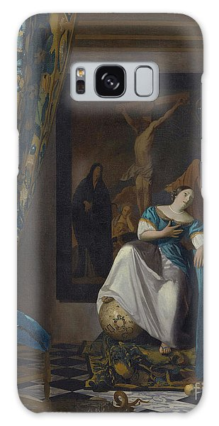 Jan Vermeer Galaxy Case - Allegory Of The Faith by Jan Vermeer