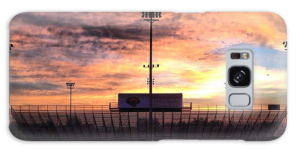 Alma High School Don Miller Field Sunrise Bleachers Galaxy Case