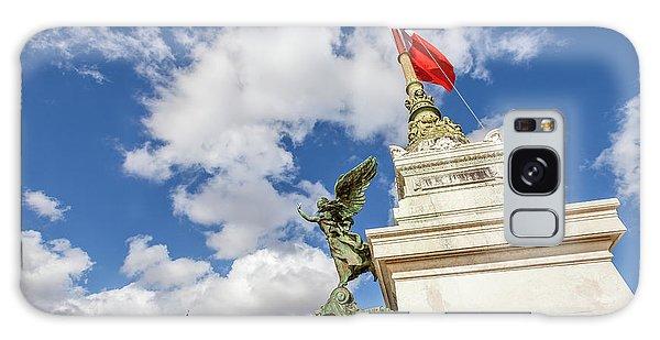 Altare Della Patria Roma Galaxy Case