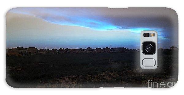 Alternate Sunset Blue Galaxy Case