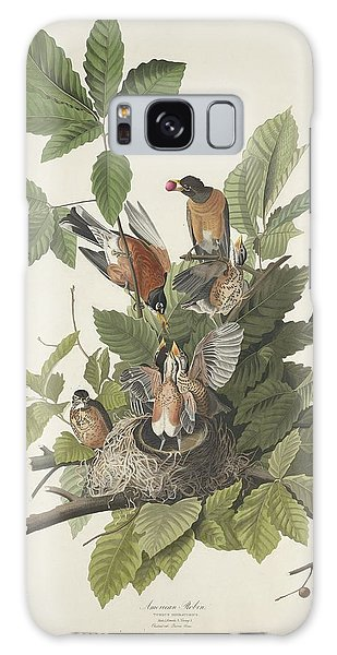 American Robin Galaxy Case by Dreyer Wildlife Print Collections