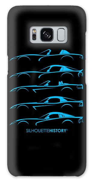 Viper Galaxy S8 Case - American Snakes Silhouettehistory by Gabor Vida