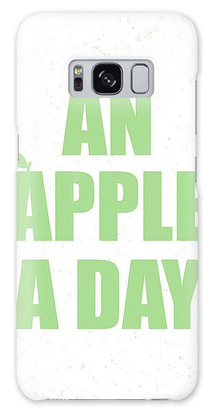 Thought Galaxy Case - An Apple A Day by Samuel Whitton