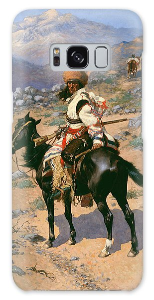 Whip Galaxy Case - An Indian Trapper by Frederic Remington