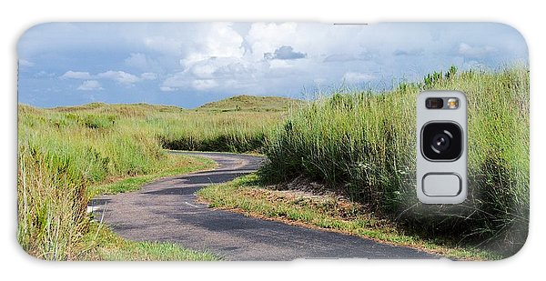 Padre Island National Seashore Galaxy S8 Case - An Inviting Path by Gary Richards