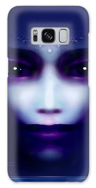 Angel  Blue Galaxy Case
