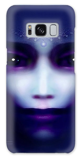 Angel  Blue Galaxy Case