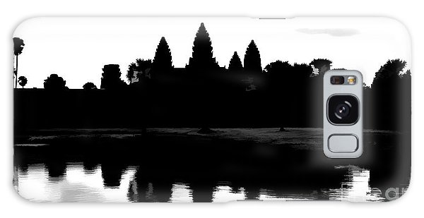 Angkor Wat Black  Galaxy Case