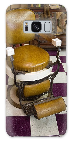 Antique Barber Chair 3 Galaxy Case