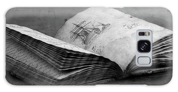 Antique Notebook Galaxy Case