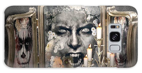 Antique Vampire Paintings Galaxy Case