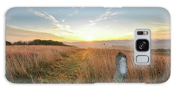 Appalachian Trail Sunrise Galaxy Case
