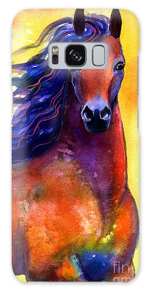 Arabian Horse 1 Painting Galaxy Case