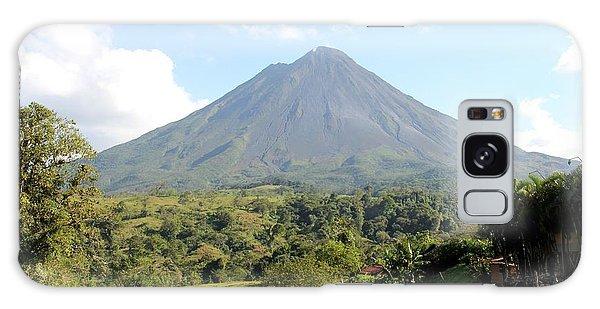 Arenal Volcano Galaxy Case