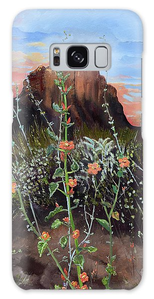 Arizona Desert Flowers-dwarf Indian Mallow Galaxy Case