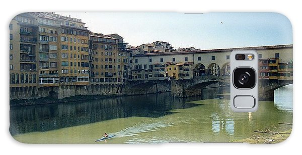 Arno River In Florence Italy Galaxy Case by Marna Edwards Flavell