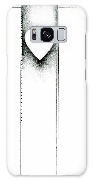 Galaxy Case featuring the drawing Ascending Heart by James Lanigan Thompson MFA