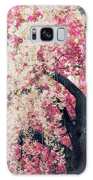 Asian Cherry Vignette Galaxy Case by Jessica Jenney
