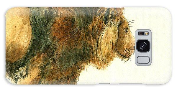 Collectibles Galaxy Case - Asiatic Lion by Juan Bosco