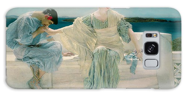 Crt Galaxy Case - Ask Me No More by Sir Lawrence Alma-Tadema