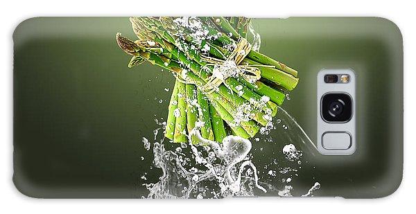 Asparagus Splash Galaxy Case