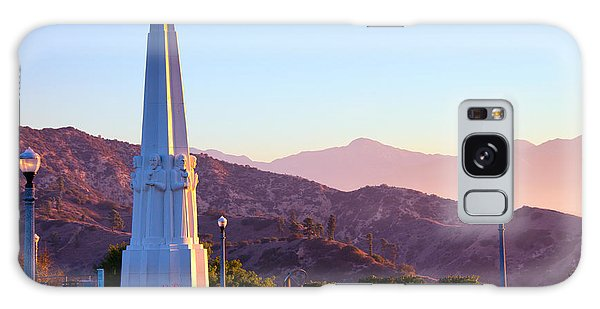 Astronomers Monument In Griffith Park Galaxy Case by Celso Diniz