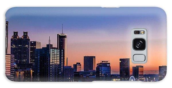 Atlanta Sunset Galaxy Case