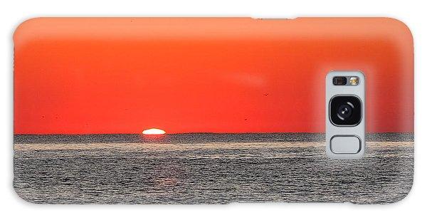 Atlantic Sunrise Galaxy Case by Allan Levin
