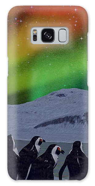 Aurora Borealis Galaxy Case by Methune Hively