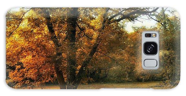 Autumn Arises Galaxy Case by Jessica Jenney