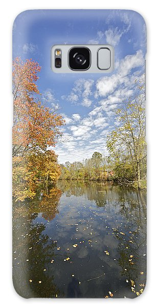 Autumn Colors On The Delaware And Raritan Canal Galaxy Case
