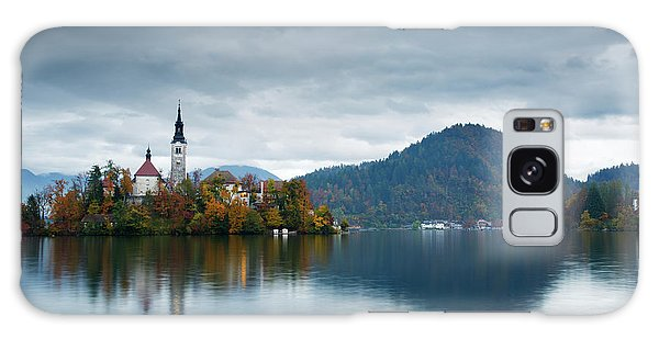 Autumn Colours At Lake Bled Galaxy Case