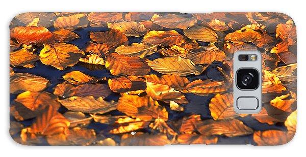 Autumn Leaves Galaxy Case by Michael Mogensen
