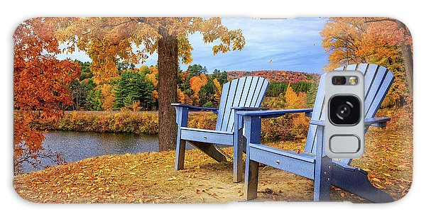 Adirondack Chair Galaxy Case - Autumn Splendor by Edward Fielding