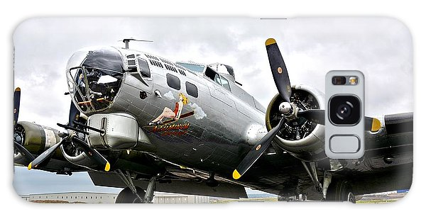 B-17 Bomber Airplane  Galaxy Case