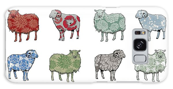 Sheep Galaxy Case - Baa Humbug by Sarah Hough
