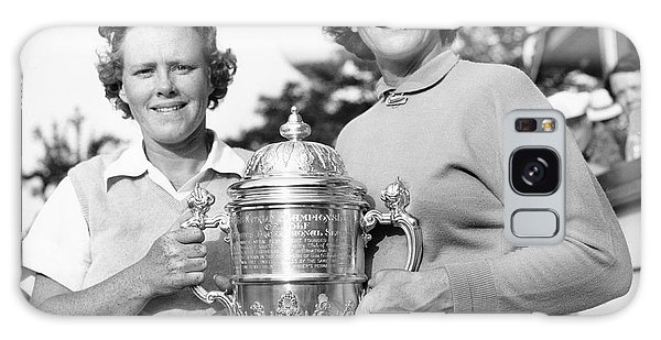 Golf Galaxy S8 Case - Patty Berg And Babe Didrikson by Underwood Archives