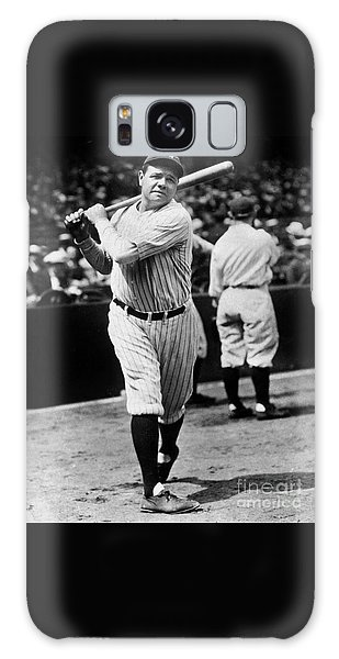 Baseball Players Galaxy S8 Case - Babe Ruth by American School
